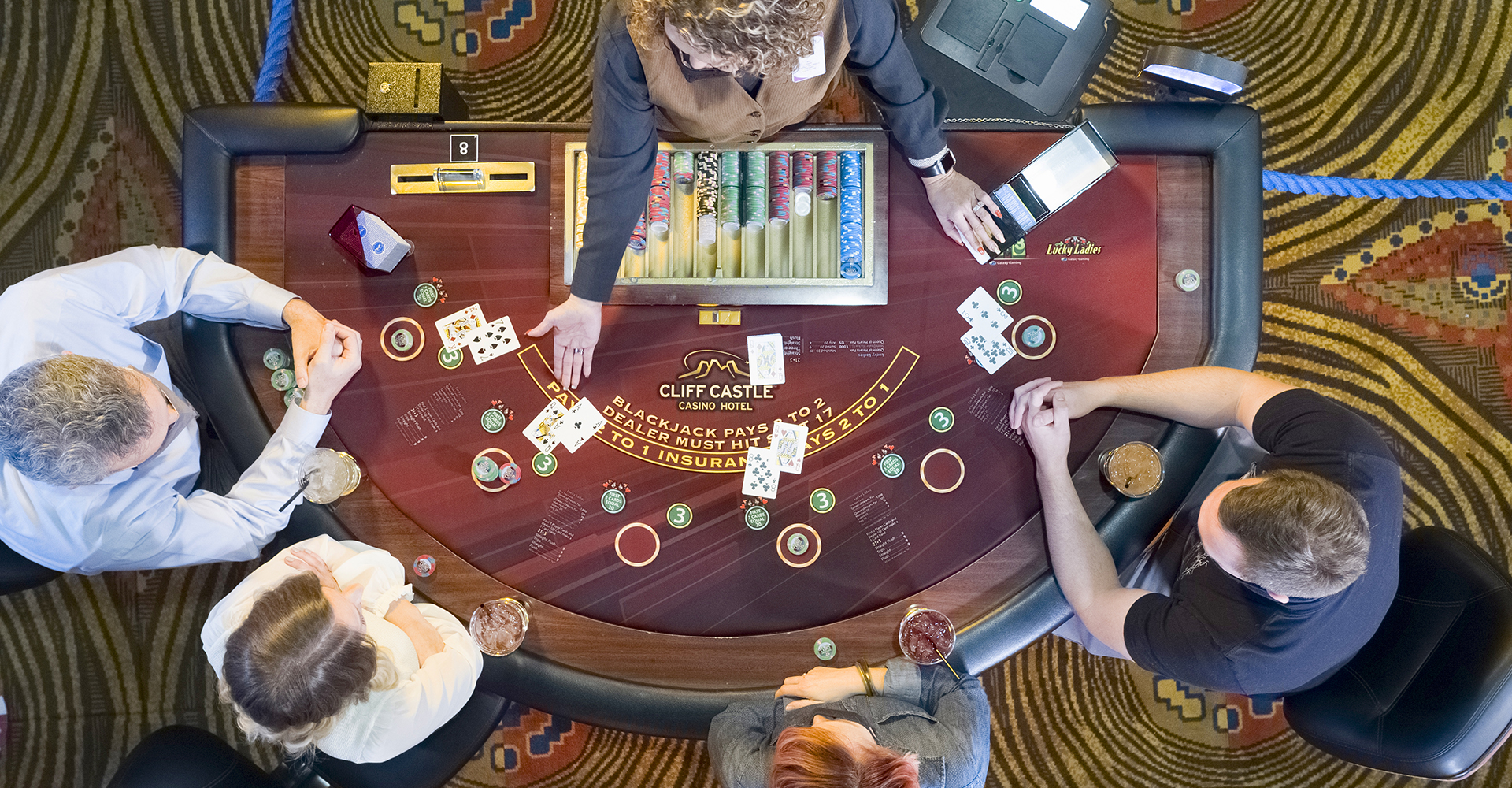 Table Games at Cliff Castle